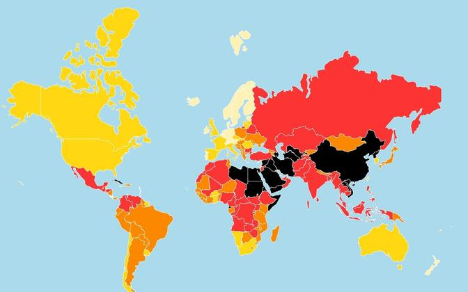 Maailma riigi liige Liikme suuruse keskmine suur